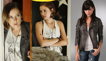 90210 Style! Silver's Division-E Tree Face Tank on Tonight's