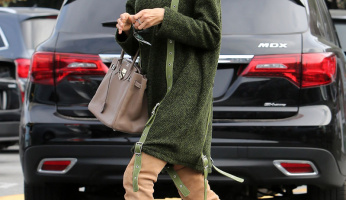 What Celebrities Wear Holiday Shopping