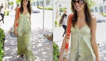 Alessandra Ambrosio Style! Gypsy 05 Paloma Silk Maxi