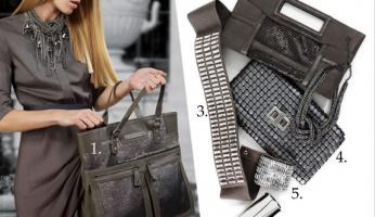 Trending: Metal-Mesh Handbags