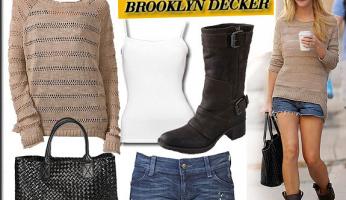 Celebrity Style Crush: Brooklyn Decker
