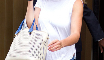 Found It! Cameron Diaz's Perforated Tote