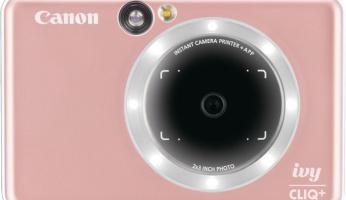 The New Canon IVY CLIQ+ Instant Print Camera Is FUN!