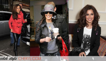Cheryl Cole is London's new face of fashion!