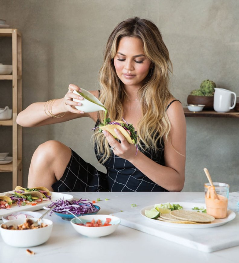 Taco Tuesday with Chrissy Teigen's Skillet-Charred Fish Tacos