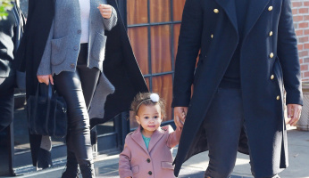 Chrissy Teigen and John Legend Have A Fashionable Family Outing
