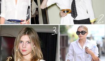 Scrimp, Spend, Splurge: Classic White Shirt, Loose or Crisp