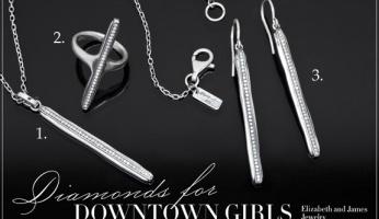 Celebrity Style Spotlight: Diamonds For Downtown Girls...Elizabeth & James