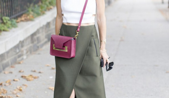 Get The Look: Elle Strauss Shows Us How To Wear A Utilitarian Skirt