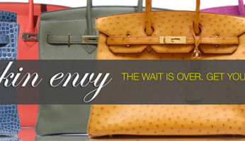 Time For You To Treat Yourself To The Ultimate Celebrity Style Bag...Hermes!