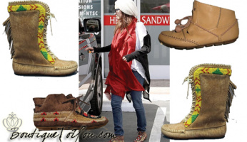Boots for Spring: House of Harlow 1960 Moccasin Booties!