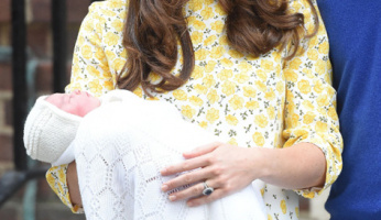Princess Kate Introduces Baby Girl Charlotte In Perfect Style