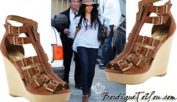 Vanessa Hudgens' Fabulous Luella Sandals!