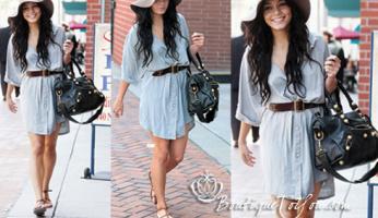 Gypsy 05 Nelly Shirt Dress on Vanessa Hudgens