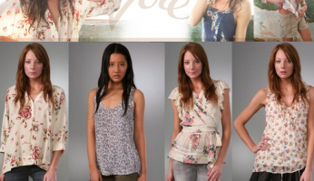 Celebrities Love Joie....Casual, Compfortable, and Luxurious!
