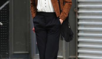 Karlie Kloss Shows Us Fringe is Fabulous