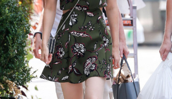 Celebrity Style Steal: Kate Mara's $110 Topshop Dress