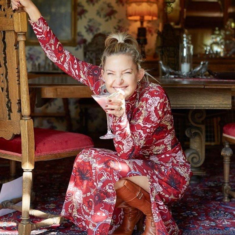 Kate Hudson's Favorite Holiday Cocktails