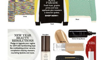 The Chic List: New Knits and Beauty Regime Upgrades