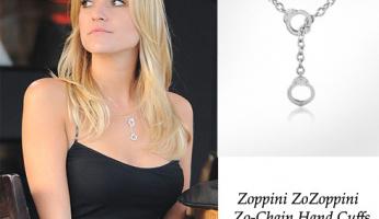 You Asked, We Found First! Kristin Cavallari's Zo-Chain Hand Cuffs Necklace!