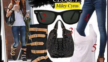 Celebrity Style Closet: Miley Cyrus