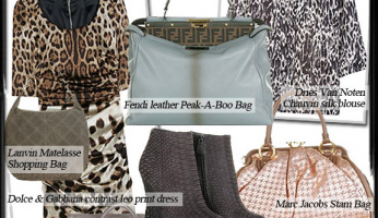 Join the Uptown-Crowd: Luxurious Statement Bags & Exotic Animal Prints