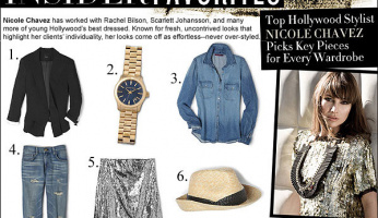 Celebrity Style Tips From A Pro: NICOLE CHAVEZ
