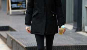 How To Wear A Warm Weather Parka Like A Celebrity