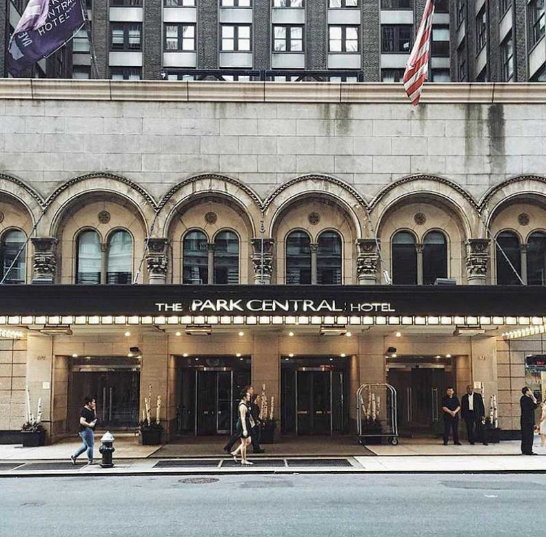 The Park Central Hotel, the Perfect New York State of Mind