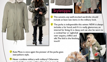 Style Lesson: How To Wear The Parka