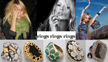 Celebrity Style: Oversize Rings!