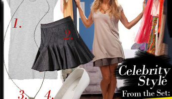 Celebrity Style From The Set: SATC2
