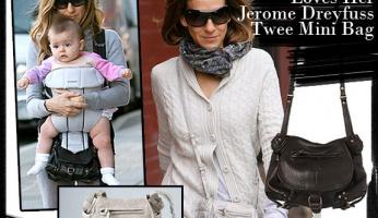 Sarah Jessica Parker: She Really Loves Her Jerome Dreyfuss Twee Mini Bag