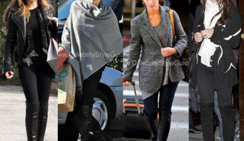 Stuart Weitzman 5050 Over the Knee Flat Boot...THE Celebrity Style Boot!