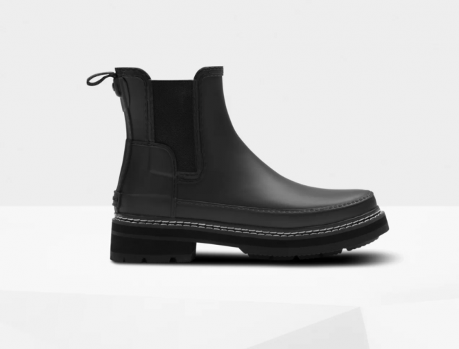 Refined Stitch Detail Chelsea Boots