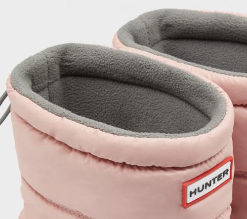 Original Insulated Short Snow Boots: Black