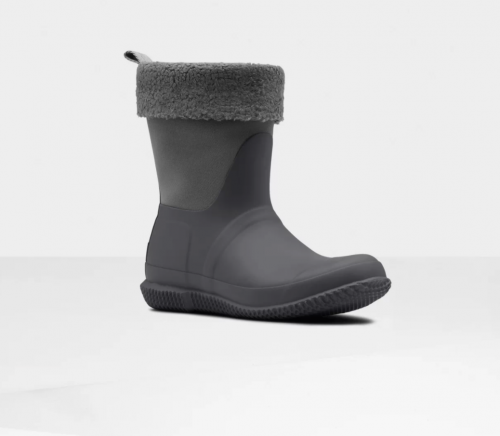 Roll Top Sherpa Boots