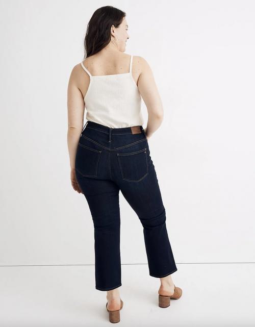 Madewell Curvy Cali Demi-Boot Jeans