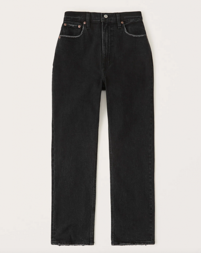 Abercrombie Curve Love Ultra High Rise Jeans