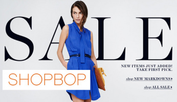 Shopbop Memorial Day Sale Starts Now!