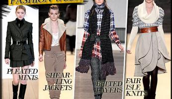 Fall 2010 Trend: FASHION WEEK