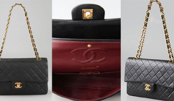 Authentic Vintage Chanel Quilted Leather Handbags...At ShopBop.com!!
