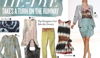 Celebrity Style Runway: Tie-Dye