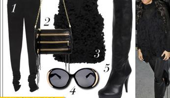 What She Wears: Kourtney Kardashian