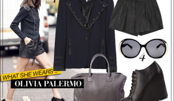 What She Wears: Olivia Palermo