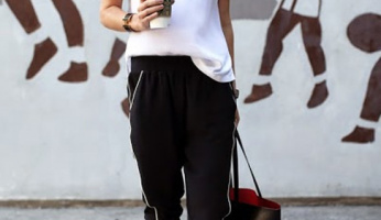 Weekend Outfit Inspiration: Sporty Lines