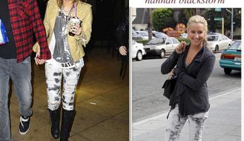 Siwy Blackstorm Hannah Distressed Skinny Jeans