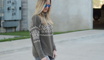 How to Chicly Take Your Ski Sweater Into Spring