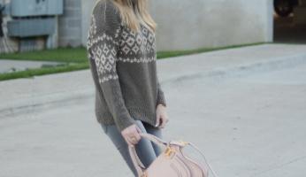 Every Fall Wardrobe Needs The Perfect Fair Isle Sweater