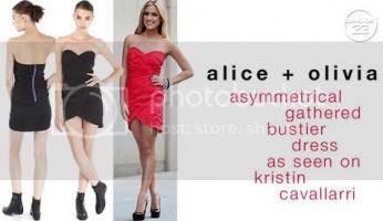 Kristin Cavallari: Red Hot in Alice + Olivia!
